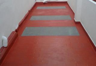 Impermeabilización con cloro caucho. Cómo impermeabilizar correctamente. Reparaciones de terrazas comunitarias.